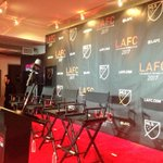 Exciting day for all of us at #MLS as we are about to launch @LAFC. http://t.co/KNQKYGDEWY