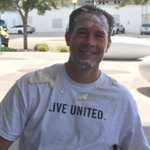 Kickoff of @HeraldTribune @UWSuncoast employee campaign w/ some fun and fundraising to hit me with pie. #greatcause http://t.co/zi0mBReSkO