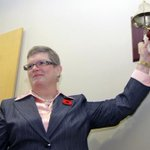 .@HamHealthSc ringing chemo bell to celebrate patient success: http://t.co/RdLScoQMyD #HamOnt http://t.co/cBcQ4qcfg6