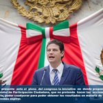 Hoy presente ante Pleno del Congreso iniciativa donde propongo creación Consejo Estatal de Participación Ciudadana http://t.co/7WNnMzaObY