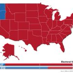2012 US Presidential Election result if only white men voted http://t.co/CSLTOm2zUO