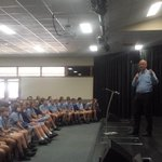 Rev Tim Costello talks to students at Creek St Christian College #Bendigo @BgoAddy http://t.co/QriqqUcYDH