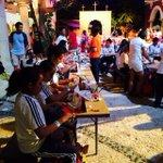 Talleres a niños para mantener vivas las tradiciones en el #FestivalVidayMuerte @XcaretPark #RSE http://t.co/KDZ01zG21I