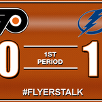 RT @CSNPhilly: The #Flyers fall behind early in Tampa with just under 16 minutes remaining in the first period. http://t.co/hd44dFY1lV