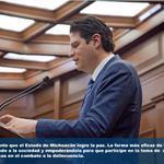 Es imperante que el Estado de Michoacán logre la paz. http://t.co/RrgWtPkxru