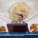 Hago un llamado a los ciudadanos de Morelia y de todo Michoacán para que juntos construyamos un estado de paz http://t.co/a35grZbWzc
