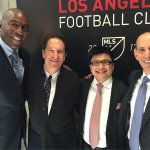Wow! First the Dodgers, then WNBA with the Sparks and now MLS ownership with the Los Angeles Football Club! #LAFC2017 http://t.co/MANcCARdvk