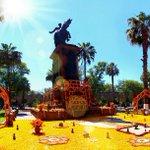 Altar a José María Morelos en el Jardín Morelos @SJara_gobmich @ruizmassieu @gobmichoacan @SECTUR_mx @Comisionadomich http://t.co/c6MaPMgbOo