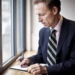 This is Jim Murphy, like the rest of us, struggling to think of reasons why he should be Scottish Labour leader. http://t.co/1jp9zM0f7i