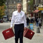 This is Jim Murphy getting ready to pick up the remains of his political party from the Scottish Parliament. http://t.co/oUGChvc4mY
