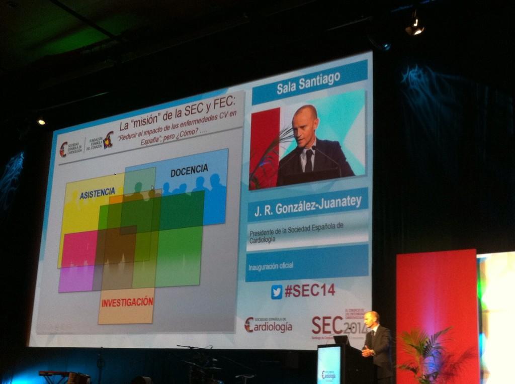 #SEC14 ¿Cómo reducir impacto de ECV? El presidente de @secardiologia habla de asistencia, formación e investigación http://t.co/bOxA9R8uAh