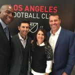 """I mean come on """"@MagicJohnson: Hanging out with fellow @LAFC Owners @Nomar5, @MiaHamm and @tonyrobbins! #LAFC2017 http://t.co/E8dJWEiCSb"""""""