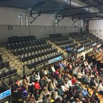Ritchie Coliseum isnt very big. But theres plenty of empty seats for the Hillary Clinton/Anthony Brown event. http://t.co/k3WlIVIJWB