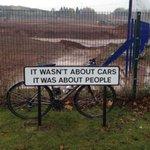 Still true today#Longbridge #Birmingham @TheIanCruise @CTC_Cyclists @pushbikesbcc @brumcyclist http://t.co/3PCj2D42bY