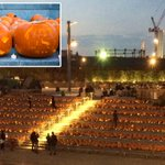 3,000 carved pumpkins form huge display next to Kings Cross station for Halloween http://t.co/wmHy6OwxHz http://t.co/rN4k9eTDsP