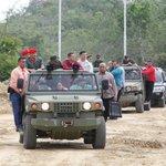 "Presidente @NicolasMaduro inspeccionó instalaciones del Fuerte Guaicaipuro, edo Miranda #FANBColumnaVitalDeLaPatria http://t.co/YbTTu3rqTm"""