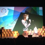 A final public appearance as EU climate comm. We love you @CHedegaardEU for your hard work! @Sustainia http://t.co/1zpRWQ4o9C