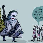 """@WEIL_caricatura estaría """"bajo investigación del MP"""" por esta caricatura así lo anunció el presidente Nicolás Maduro http://t.co/77zJzeIXAc"""