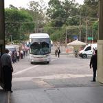 Acaba de llegar la delegación del @CSEmelec al estadio #Morumbi #CopaSudamericana @emelec http://t.co/Nk2s7CBKRG