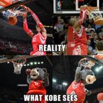 What Kobe Bryant really thinks when he sees Dwight Howard! #Lakers #Rockets http://t.co/lmVudwPRm7
