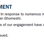"""#BREAKING: PR firm Navigator drops #JianGhomeshi, statement says """"the circumstances of our engagement have changed."""" http://t.co/Ykg1VXXTZx"""