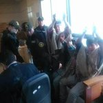 """@eatps_: #Mapuche children handcuffed like criminals! Outrage! #Chile #Santiago https://t.co/A2oUGxCzmM via @Chileokulto"" @YourAnonGlobal"