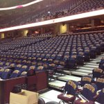 All seats have shirts, glow sticks, poster and confetti @wkyc #cavs http://t.co/RLGRllMWyt