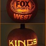 @FoxSportsWest @LAKings my pumpkin carvings ???? #KingsPumpkin #FANtasticHalloween http://t.co/WeCJbCxT8U