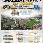 SEC Nation on the @SECNetwork is coming to #Mizzou! Be on the Quad at 2:30pm Friday & 8am Saturday for taping. MIZ! http://t.co/wztirYEywc