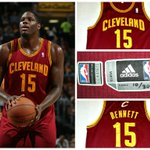 #TBT This day last year, @AnthonyBennett made his #NBA debut. Bid now on his debut jersey at http://t.co/Bd0sFkYAF6 http://t.co/2q9NFdclVN