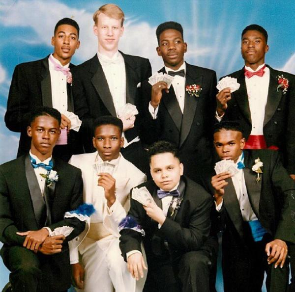 This photo of Young Dave Lang (@JosephJBroni) at his prom is the most photoshopped-looking real photo of all time. http://t.co/tdPN7ZJTrA