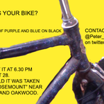 I am still looking for the owner of this stolen bike, #Toronto. Do you recognize it? http://t.co/xpvxYPqlwp