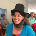 Ready to see a piece of American history! @nevadaart #selfiesforabe #NV150 #36thStar http://t.co/ULTv7zROrY