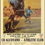 Espectacular el cartel del @CD_Alcoyano , para el partido de Copa del Rey frente al Athletic. Gran Iniciativa #retro https://t.co/2ojXyQuqH1