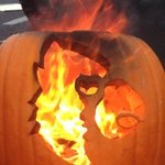 Flaming pumpkins! #UofL #FSUvsLOU #GoCards @WHAS11 http://t.co/PFNBMeuC7M