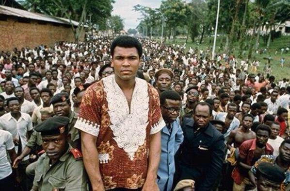 Today is the 40th anniversary of Rumble in the Jungle, when Muhammad Ali defeated George Foreman in Congo/Zaire #tbt http://t.co/n47hA41TLB