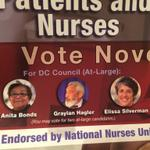 Nurses union endorsed 3 At-Large candidates for election where 2 win. I suppose thats a way to hedge your bets. http://t.co/exroILsyBj