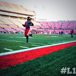 The man. The myth. The legend himself. Mr. Sack Your QB warming up for #ShowTime! #L1C4 http://t.co/jIOmKIYwKn