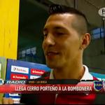 """Jonathan Fabbro """"El favorito es Boca, por todo lo que representa a nivel internacional. Si hago un gol no lo grito"""" http://t.co/aEysPevCXq"""