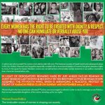 Respect women! PTI women are brave to stand strong against the dirty mindset & status quo. Dare not malign our women. http://t.co/HX8eVaIppU