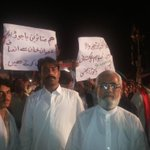 The ppl of Bajar agency FATA came to #AzadiSquare & pledged support to #PTI. They felt abandoned by the gov. http://t.co/nVINLulUjp