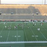 Out at Clark Stadium tonight as Plano hosts Flower Mound Marcus. Major playoff ramifications riding on this one. http://t.co/lReGptD6UR