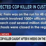 FBI Most-Wanted suspect Eric Frein captured. Find out who is the suspected cop killer here: http://t.co/1i5NXWtwil http://t.co/qXdB3RQ9ct