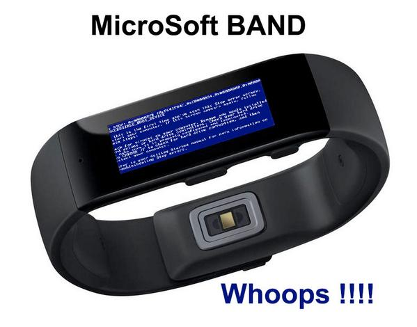 MicroSoft joins the wearable tech race. #wearabletech #smartband http://t.co/zMAATkwz4S
