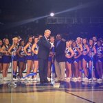 President McPhee cuts the ribbon in the grand re-opening of the Murphy Center, welcome to Murphy Madness! http://t.co/lQKfJZFwIx