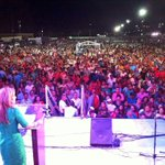 Reúne la Senadora @claudiapavlovic a 25,000 personas en Cajeme @PUROPOTRILLO @kikidiazbrown @PriscilaValenz4 http://t.co/L4II9jxd5M