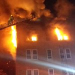"""""""@telesara: Photo: fire at 62nd and Chestnut Sts #philly @RedCrossPhilly responding to help residents http://t.co/0XYkjebq6x"""" #RCDAR"""