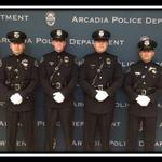 Arcadia Police #HonorGuard making their debut tomorrow! Hint...large gathering @santaanitapark. #BC14 http://t.co/06TM5jTAH4