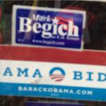 Spotted in #Anchorage, a reminder: a vote for Mark Begich is a vote for Obamas liberal agenda. #aksen http://t.co/N67VyPV5a4