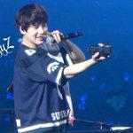 [HQ PIC] 141028 SS6 Tokyo - Happy Kyuhyun while taking selca for himself! ^^ [2P] (Cr:@aggyz_monsteR) http://t.co/HYPimFOMSb